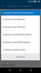 HTC one-m9-model-0pja100-android-nougat - Contacten en data - Contacten kopiëren van toestel naar SIM - Stap 7
