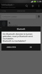HTC One Mini - Contacten en data - Contacten overzetten via Bluetooth - Stap 10