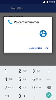Nokia 6 - Voicemail - Handmatig instellen - Stap 10