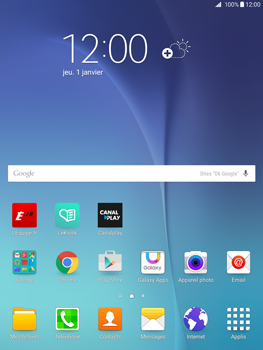 Samsung Galaxy Tab A 9.7 - Internet - Examples des sites mobile - Étape 1
