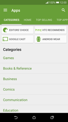 HTC Desire 626 - Applications - Download apps - Step 8