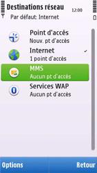 Nokia C6-00 - MMS - configuration manuelle - Étape 7