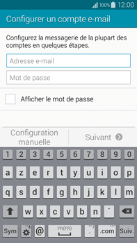Samsung N910F Galaxy Note 4 - E-mail - Configuration manuelle - Étape 5