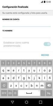 LG G6 - E-mail - Configurar correo electrónico - Paso 21