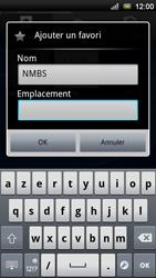 Sony Ericsson Xperia Neo V - Internet - Navigation sur internet - Étape 10