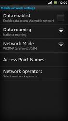 Sony ST25i Xperia U - Network - Usage across the border - Step 6