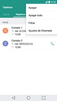 LG G5 Stylus - Chamadas - Como bloquear chamadas de um número específico - Etapa 5