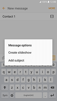 Samsung Galaxy J7 (2016) (J710) - Mms - Sending a picture message - Step 12
