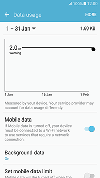 Samsung Galaxy J7 (2016) (J710) - Internet - Manual configuration - Step 5
