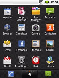LG P350 Optimus Me - E-mail - Hoe te versturen - Stap 3