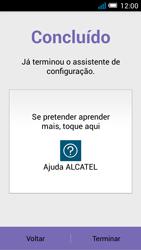 Alcatel POP C7 - Primeiros passos - Como ligar o telemóvel pela primeira vez -  10
