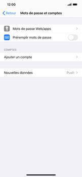 Apple iPhone XR - iOS 13 - E-mail - Configuration manuelle - Étape 4