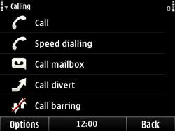 Nokia E6-00 - Voicemail - Manual configuration - Step 5