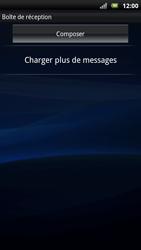Sony Ericsson Xperia Neo - E-mail - envoyer un e-mail - Étape 3
