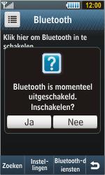 Samsung S8000 Jet - Bluetooth - headset, carkit verbinding - Stap 5