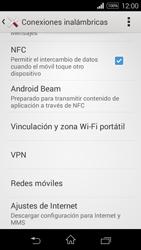 Sony D2203 Xperia E3 - Internet - Activar o desactivar la conexión de datos - Paso 5