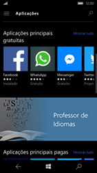 Microsoft Lumia 550 - Aplicações - Como pesquisar e instalar aplicações -  7