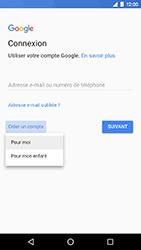 LG Nexus 5X - Android Oreo - Applications - Créer un compte - Étape 6