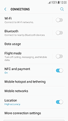 Samsung J330F Galaxy J3 (2017) - Internet - Enable or disable - Step 5