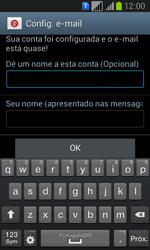 Samsung GT-I8552B Galaxy Win Duos - Email - Como configurar seu celular para receber e enviar e-mails - Etapa 16