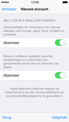 Apple iPhone SE - iOS 10 - Applicaties - Account aanmaken - Stap 17