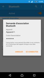 Sony Xperia M5 - WiFi et Bluetooth - Jumeler votre téléphone avec un accessoire bluetooth - Étape 7