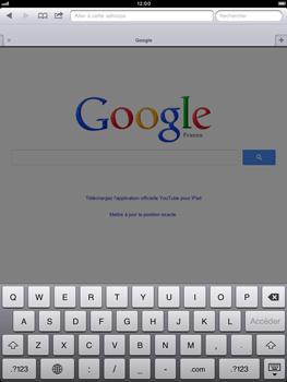 Apple iPad mini - Internet - Navigation sur Internet - Étape 8