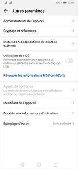 Huawei P30 Pro - Sécurité - modifier SIM PIN - Étape 5