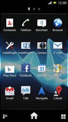 Sony ST26i Xperia J - E-mail - e-mail versturen - Stap 2