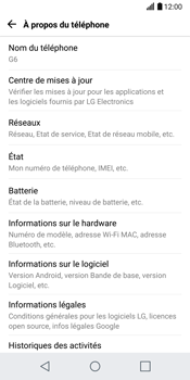 LG H870 G6 - Réseau - Installation de mises à jour - Étape 6