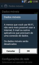 Samsung SM-G3502T Galaxy Core Plus Duo TV - Rede móvel - Como ativar e desativar uma rede de dados - Etapa 7