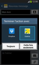 Samsung Galaxy Core Plus - Mms - Envoi d