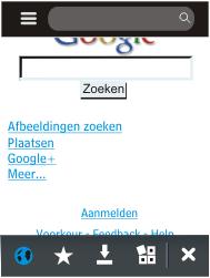 Nokia Asha 203 - Internet - Hoe te internetten - Stap 7