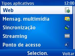Nokia X2-01 - Internet - Como configurar seu celular para navegar através de Vivo Internet - Etapa 7