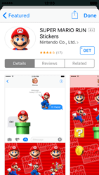Apple iPhone SE - iOS 10 - iOS features - Send iMessage - Step 19