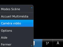 BlackBerry 9720 - Photos, vidéos, musique - Créer une vidéo - Étape 5
