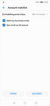 Huawei P20 Lite - E-mail - e-mail instellen: POP3 - Stap 17