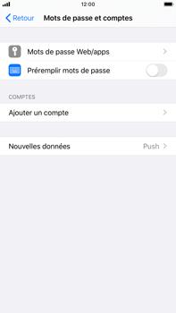 Apple iPhone 8 Plus - iOS 13 - E-mail - Configuration manuelle - Étape 4
