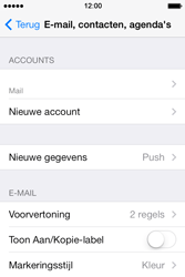 Apple iPhone 4S iOS 7 - E-mail - handmatig instellen - Stap 24