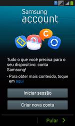 Samsung SM-G3502T Galaxy Core Plus Duo TV - Primeiros passos - Como ativar seu aparelho - Etapa 8