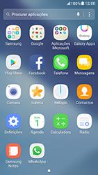 Samsung Galaxy A5 (2017) - Aplicações - Como configurar o WhatsApp -  4