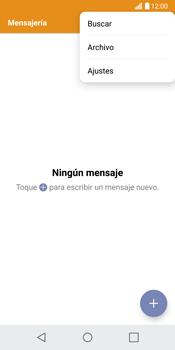 LG G6 - Mensajería - Configurar el equipo para mensajes de texto - Paso 4