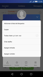 Huawei Y6 - Chamadas - Como bloquear chamadas de um número específico - Etapa 5