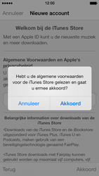 Apple iPhone 5 met iOS 7 - Applicaties - Account aanmaken - Stap 10