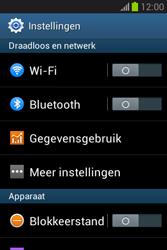 Samsung S6790 Galaxy Fame Lite - Internet - aan- of uitzetten - Stap 4