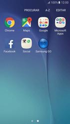 Samsung Galaxy S6 Android M - Aplicações - Como configurar o WhatsApp -  4