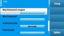 Nokia N97 - Internet - handmatig instellen - Stap 16