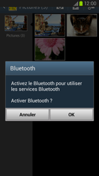 Samsung Galaxy S3 4G - Photos, vidéos, musique - Envoyer une photo via Bluetooth - Étape 11