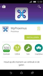 HTC Desire 320 - Applicaties - MyProximus - Stap 8