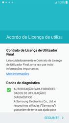 Samsung Galaxy J5 - Primeiros passos - Como ligar o telemóvel pela primeira vez -  6